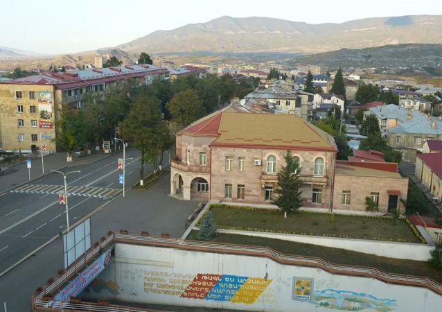 未获国际承认的纳戈尔诺-卡拉巴赫共和国首都斯捷潘纳克特
