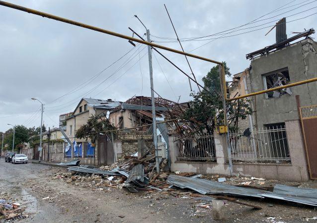 纳卡地区领导人指责阿塞拜疆当局实施种族灭绝政策