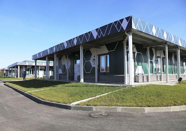 俄罗斯东部军区阿纳斯塔西耶夫卡村的多功能医疗中心