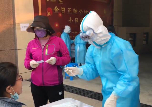 青岛全员都已开始接受冠状病毒检测
