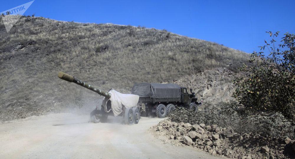 纳卡地区国防军称前线局部战斗仍在持续