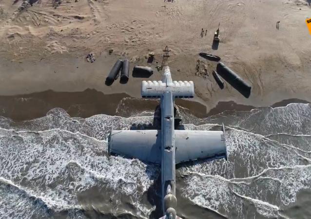 """""""里海怪物""""——苏联时期的秘密地效飞行器"""