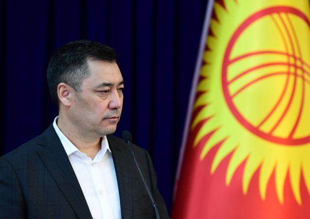 吉尔吉斯斯坦代理总统扎帕罗夫