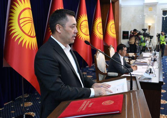 吉尔吉斯斯坦总理扎帕罗夫