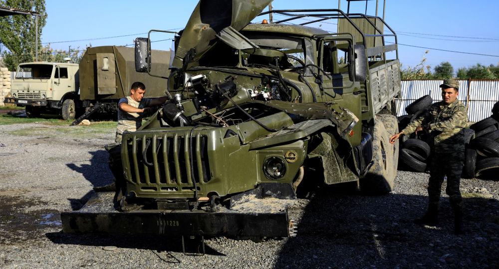 亚方已向莫斯科派遣军方代表磋商纳卡地区停火问题