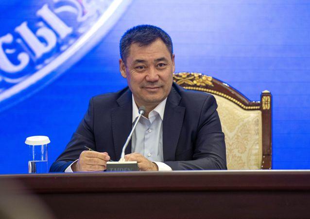 吉尔吉斯斯坦代总统感谢中国帮助抗疫