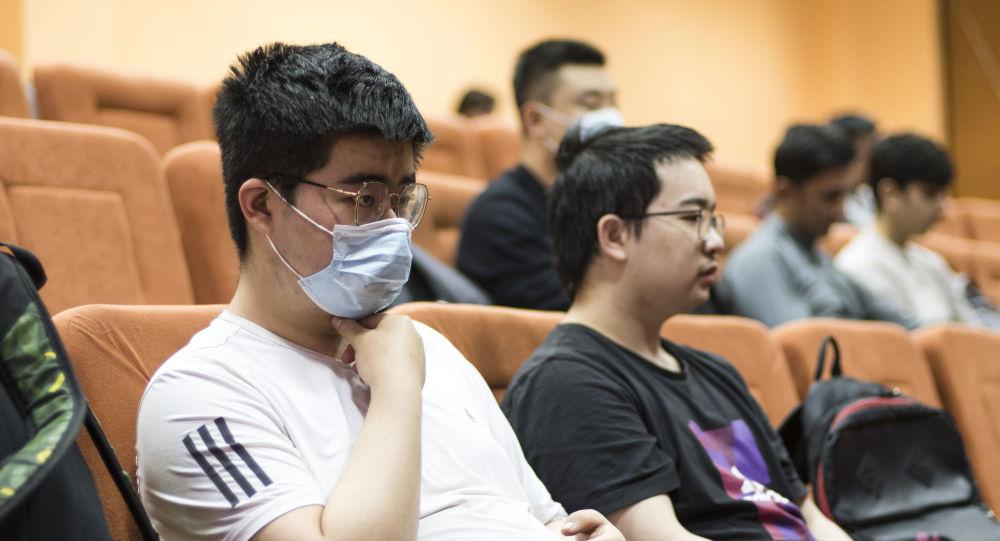 中国留学生积极参加在莫斯科举办的民族志奥林匹克竞赛