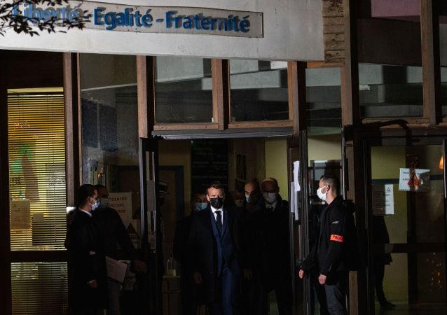 法国将举行全国仪式 与遇害老师告别