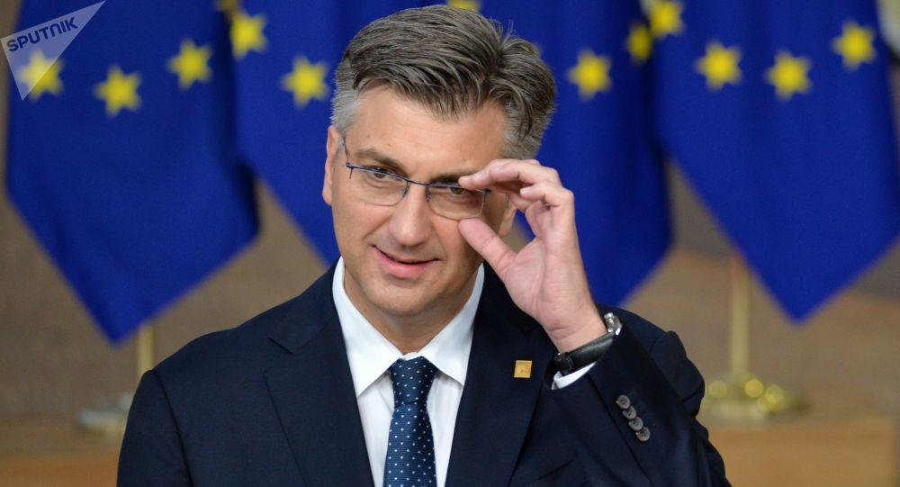 克罗地亚总理普连科维奇