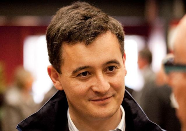 法国内政部长热拉尔德·达尔马宁