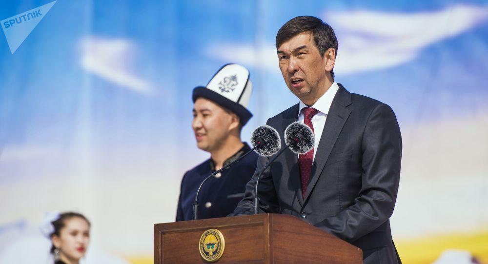 比什凯克市市长苏拉克马托夫