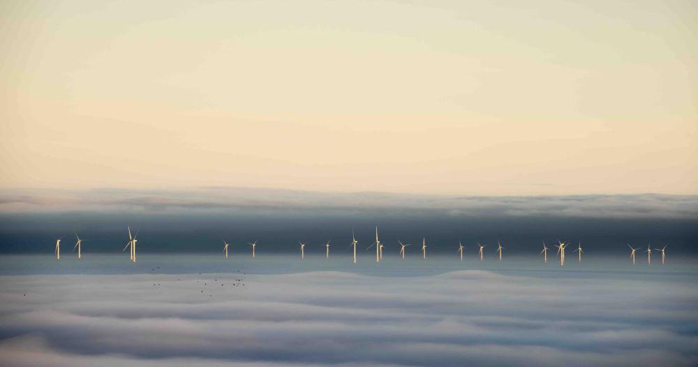 2020风光摄影师大赛Changing Landscapes类别获奖作品,摄影师Graham Eaton的《When the Fog Parted》。