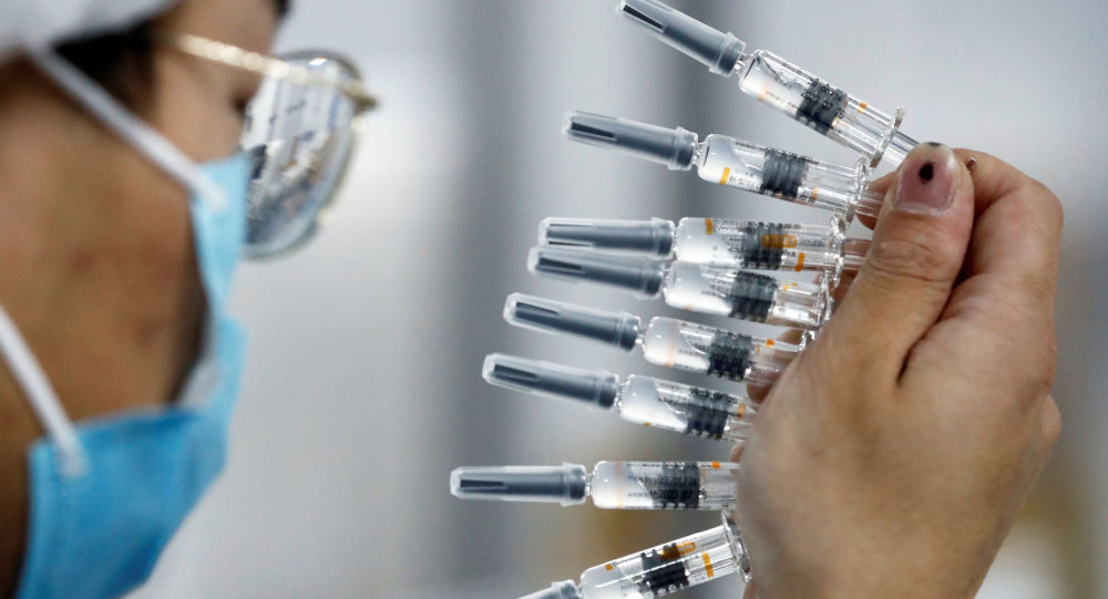 中国疫苗试验第三阶段将于2020年12月在该国开始