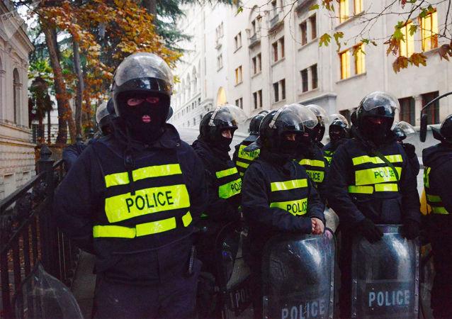 格鲁吉亚警察
