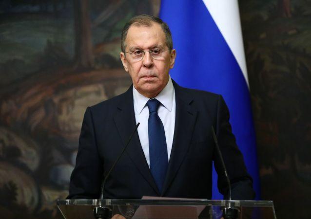 拉夫罗夫称,俄不会就签署战略性攻击武器条约向中国施压