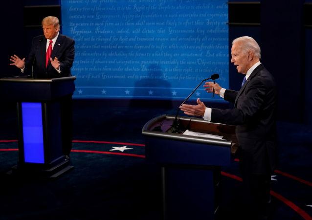 拜登称特朗普没有履行总统职责