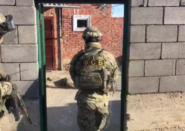 俄联邦安全局人员
