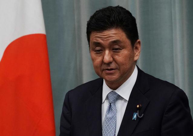 日本防卫大臣岸信夫