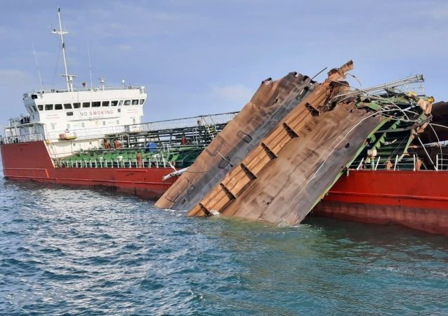 亚速海油轮爆炸事故未引发泄漏 水域未出现油污
