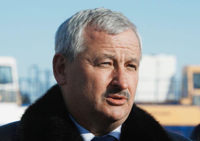 白俄罗斯工业部长帕尔霍姆奇克