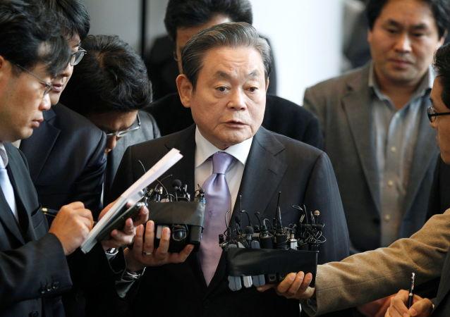 韩国已故三星集团会长李健熙