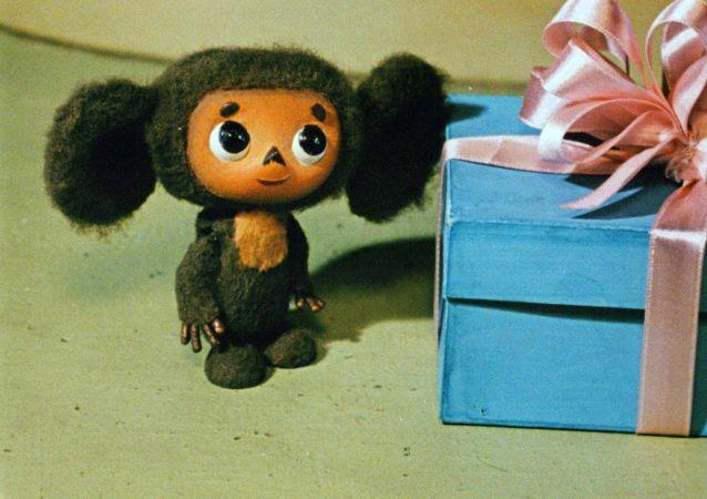 苏联卡通人物大耳猴切布拉什卡。
