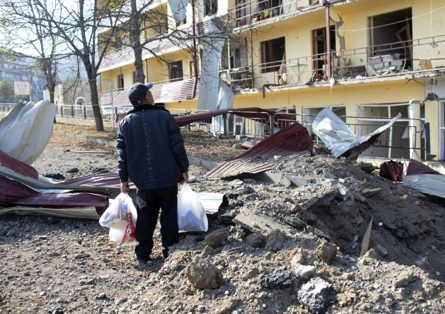 纳卡地区紧急情况局称马尔图尼市遭到空袭