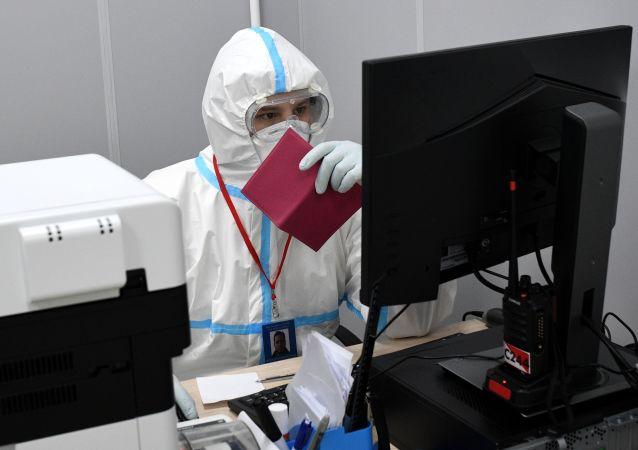 莫斯科收治新冠病人的医院推广数字技术以摆脱对纸张的依赖