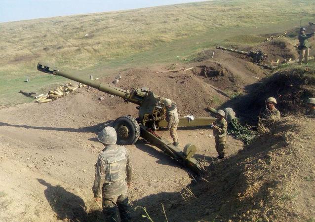 俄对外情报局收到合作伙伴情报部门有关纳卡有叙武装分子的资料