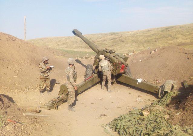 阿塞拜疆国防部称击落一架亚美尼亚苏-25强击机