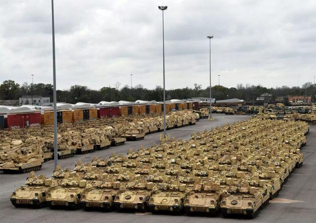 """""""5万中国军队在美加边境集结""""?美媒辟谣:照片里的是美军"""
