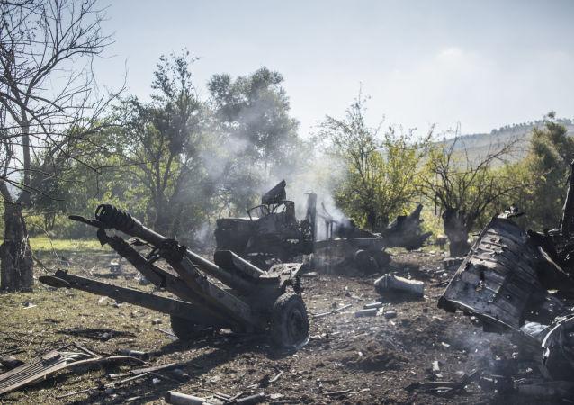 阿塞拜疆军方宣布亚美尼亚武装部队在纳卡被迫撤退