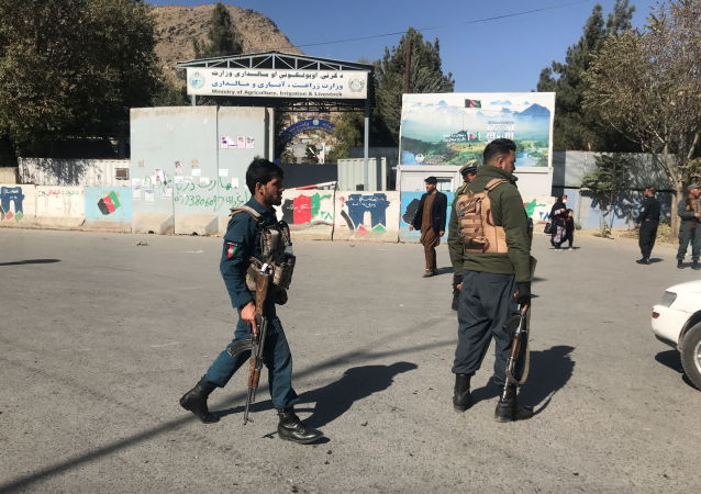 喀布尔大学恐袭事件