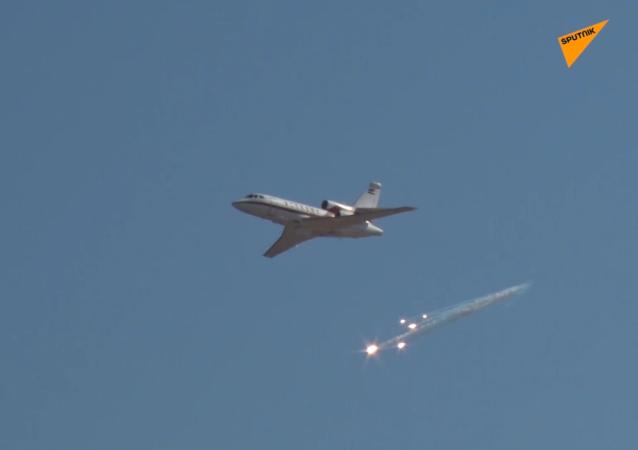 伊朗空军开始大规模演习
