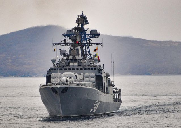 俄太平洋舰队战舰结束对斯里兰卡的访问