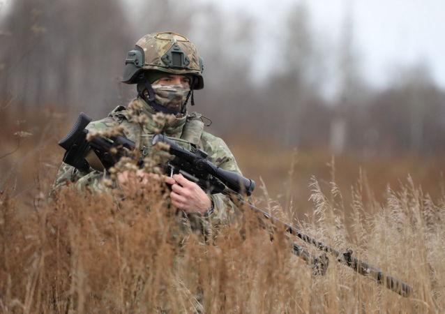 俄军在西伯利亚组建敌后行动特种分队