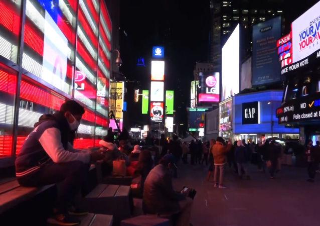 纽约如何等待选举结果
