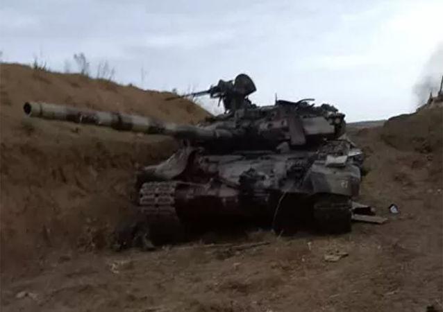 亚美尼亚国防部:纳卡南部有三辆阿塞拜疆坦克被击毁