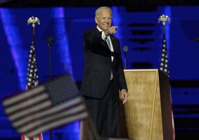 美国总统候选人拜登