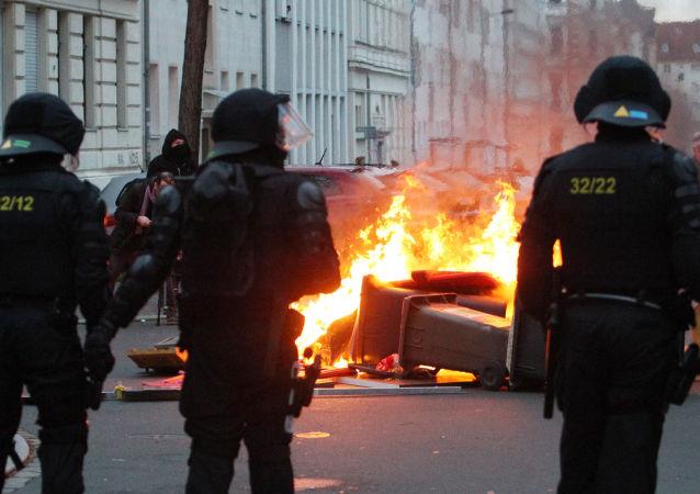 莱比锡骚乱