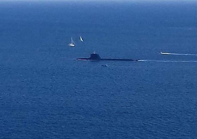 """法海军""""梭鱼""""级核动力潜艇""""絮弗伦""""(Suffren)号"""