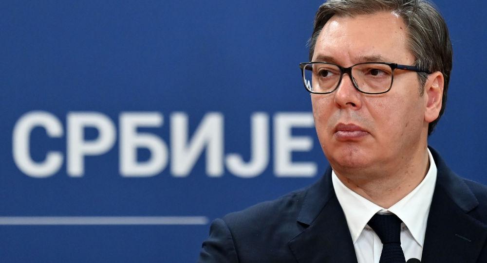 塞尔维亚总统武契奇