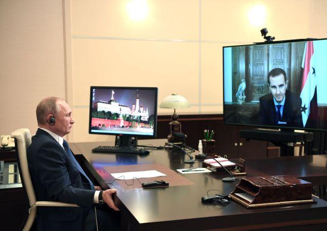 克宫:普京祝愿感染新冠的阿萨德早日康复