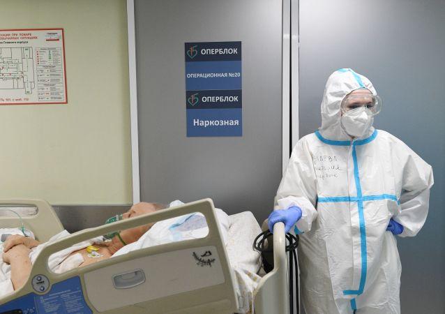 俄防疫指挥部:俄单日新增新冠病毒感染病例19851例 累计超183.6万例