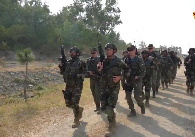 """俄罗斯与巴基斯坦军人在联合演习""""友谊-2020""""中开展射击训练"""