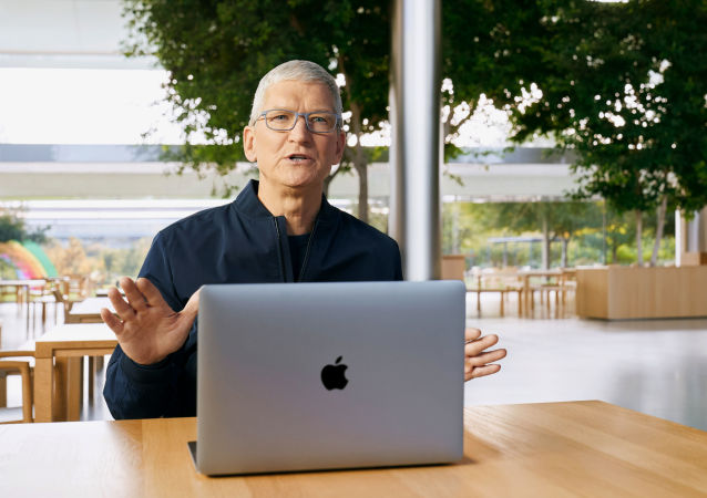库克称苹果品牌有源产品数量超过16亿件