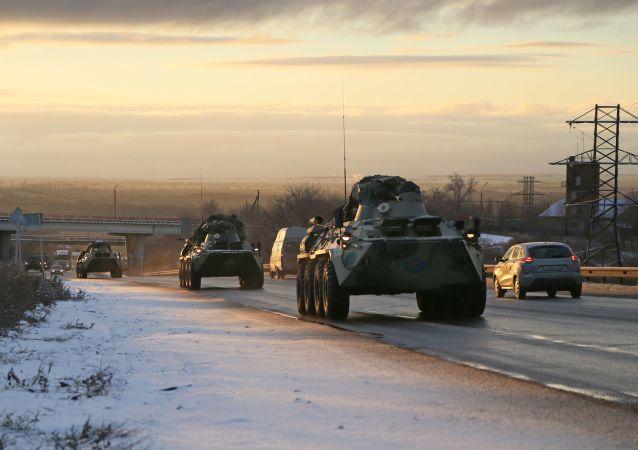 俄国防部网站开辟有关俄罗斯维和军人在纳卡的栏目