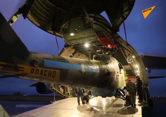米-8和米-24直升机将参加纳卡地区维和行动