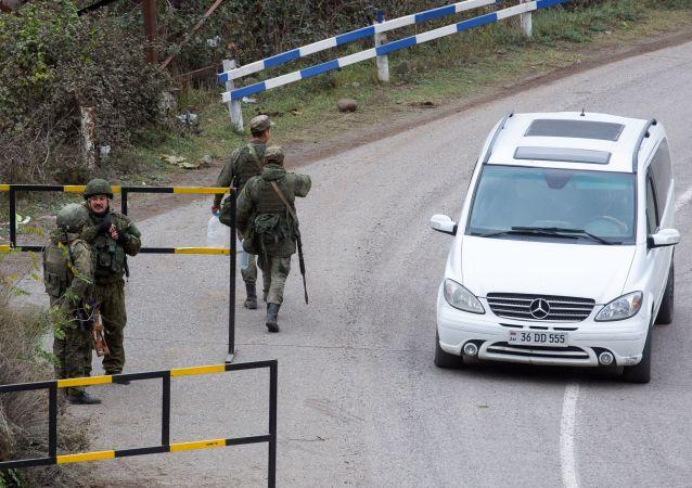 俄罗斯维和部队