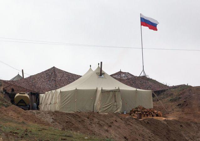 俄罗斯驻纳卡地区维和部队基地